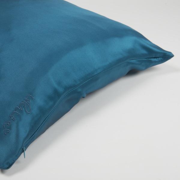 svilena prevleka za vzglavnik turkizna