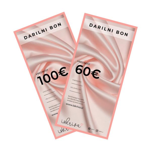 darilni bon iskriva svila